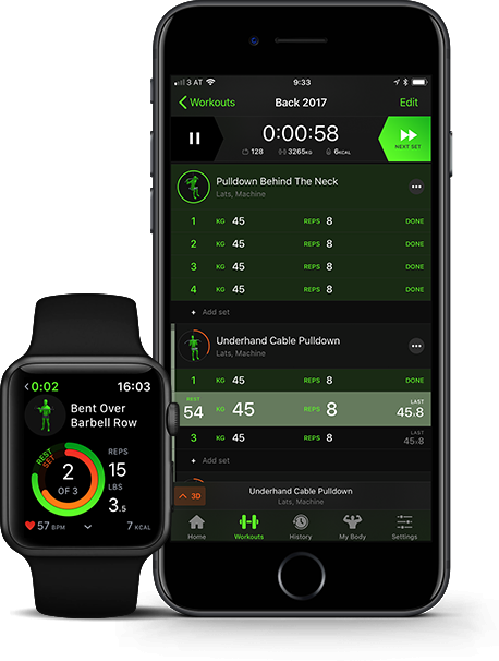The Best workout tracker